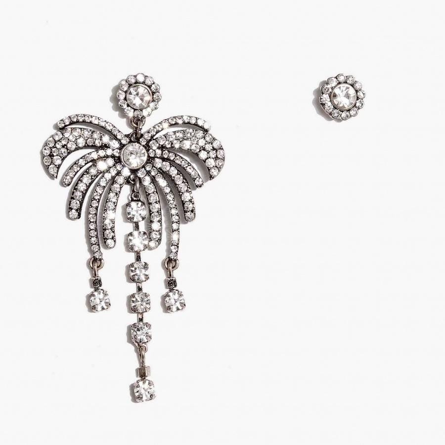 Nalì orecchini con palma emor0348 argento - dettaglio 1