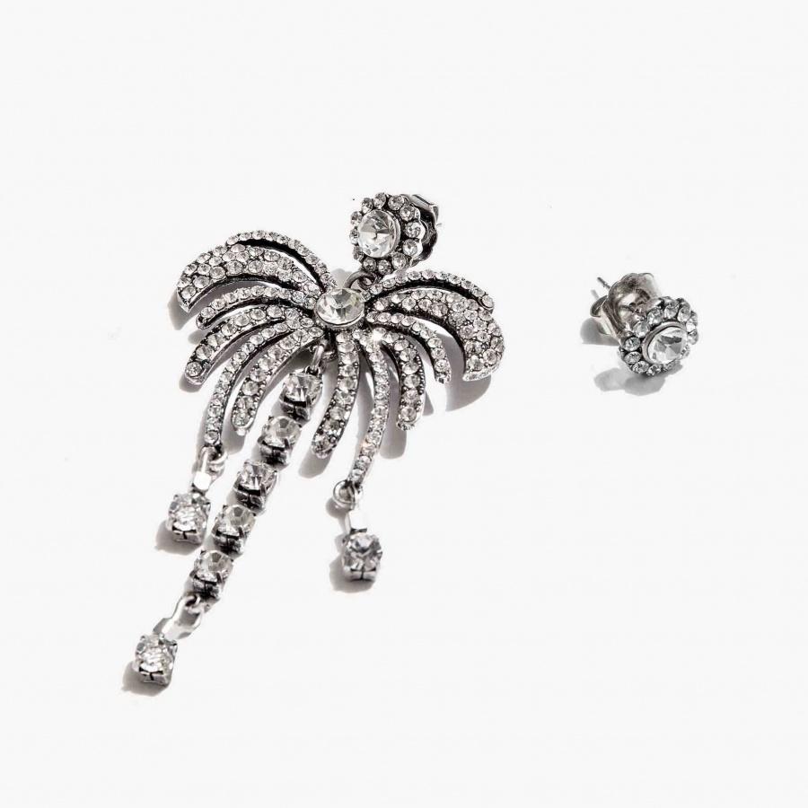 Nalì orecchini con palma emor0348 argento - dettaglio 2