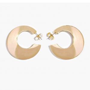 Nalì orecchino cerchio disco mfor0052 oro - dettaglio 1
