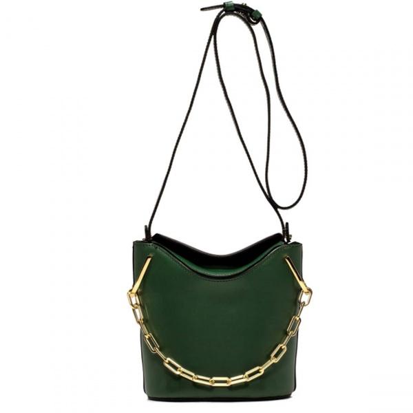 Borsa a secchiello sophia gianni chiarini smeraldo - dettaglio 1