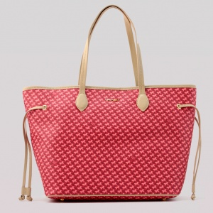 Twinset Shopping bag con stampa farfalle in Similpelle Stampa Farfalle Ruby - dettaglio 1