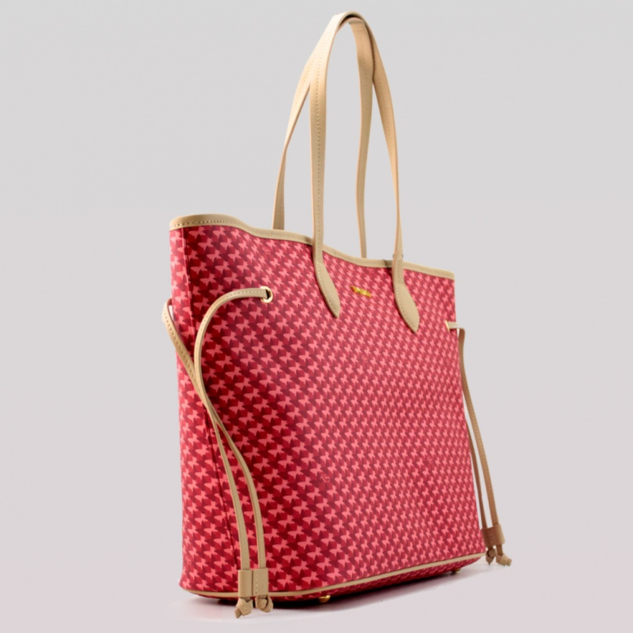 Twinset Shopping bag con stampa farfalle in Similpelle Stampa Farfalle Ruby - dettaglio 2