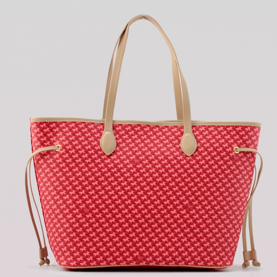 Twinset Shopping bag con stampa farfalle in Similpelle Stampa Farfalle Ruby - dettaglio 3