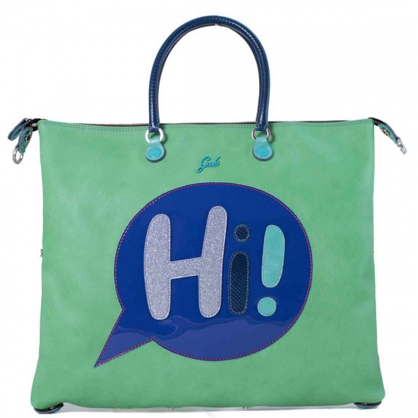 Gabs borsa a mano g3 vignetta hi trasformabile pelle prato - dettaglio 1