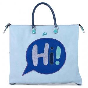 Gabs borsa a mano g3 vignetta hi trasformabile pelle cielo - dettaglio 1