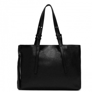Shopping bag twin large gianni chiarini nero - dettaglio 1