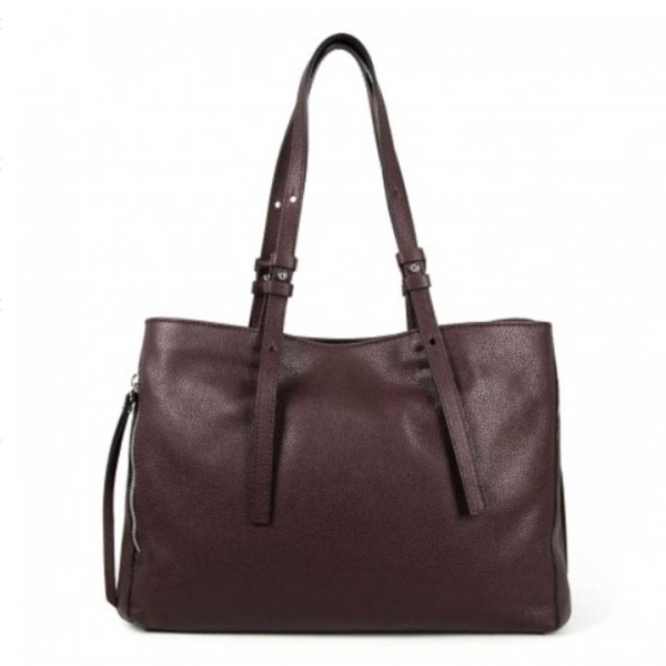 Shopping bag twin large gianni chiarini oxblood - dettaglio 1