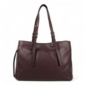 Shopping bag twin large gianni chiarini oxblood - dettaglio 1