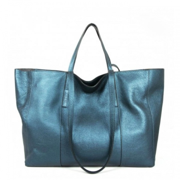Shopping bag superlight zip large gianni chiarini mangrovia - dettaglio 1
