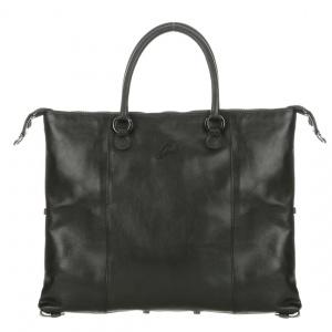 Gabs borsa a mano g3 plus black escudo pelle liscia nero - dettaglio 1