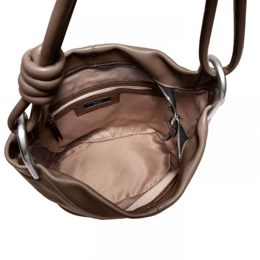 Borsa a spalla ione large gianni chiarini cioccolato - dettaglio 4