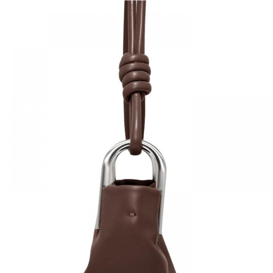 Borsa a spalla ione large gianni chiarini cioccolato - dettaglio 6
