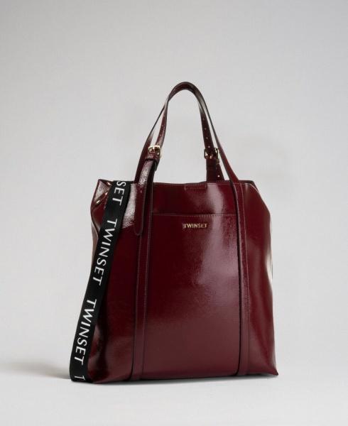 Twinset shopping bag 192to8151 red velvet - dettaglio 1