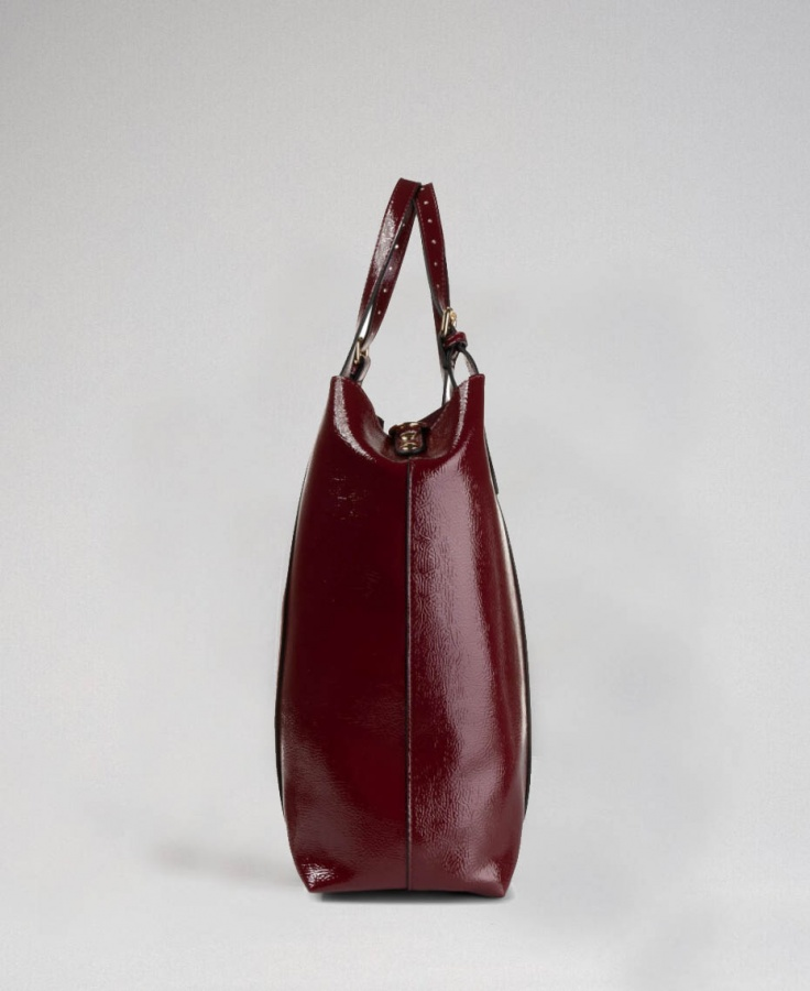 Twinset shopping bag 192to8151 red velvet - dettaglio 3