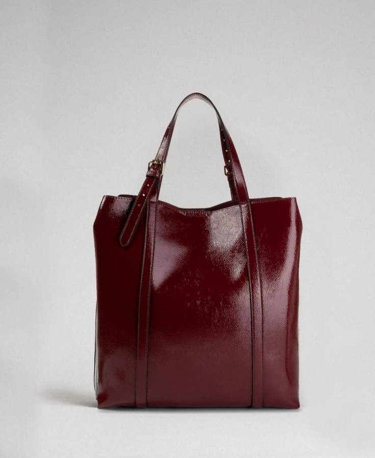 Twinset shopping bag 192to8151 red velvet - dettaglio 4