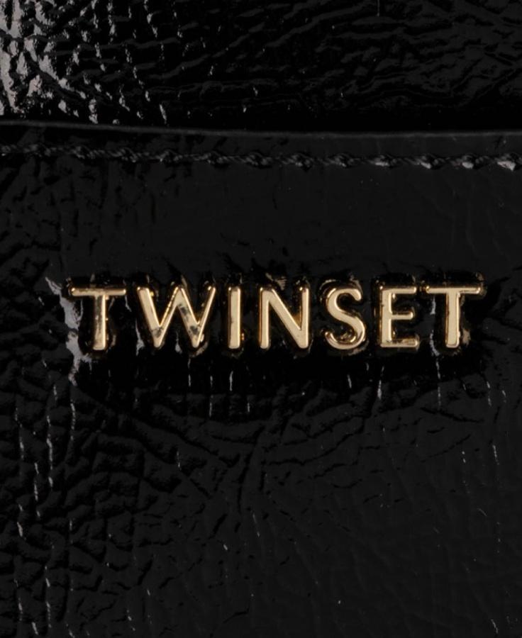 Twinset shopping bag 192to8151 nero - dettaglio 2