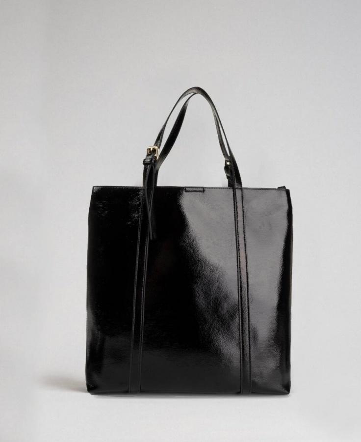 Twinset shopping bag 192to8151 nero - dettaglio 4