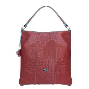 Gabs borsa a spalla sofia sundek escudo pelle opaca bordeaux - dettaglio 1