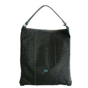 Gabs borsa a spalla sofia sundek escudo pelle opaca nero - dettaglio 1