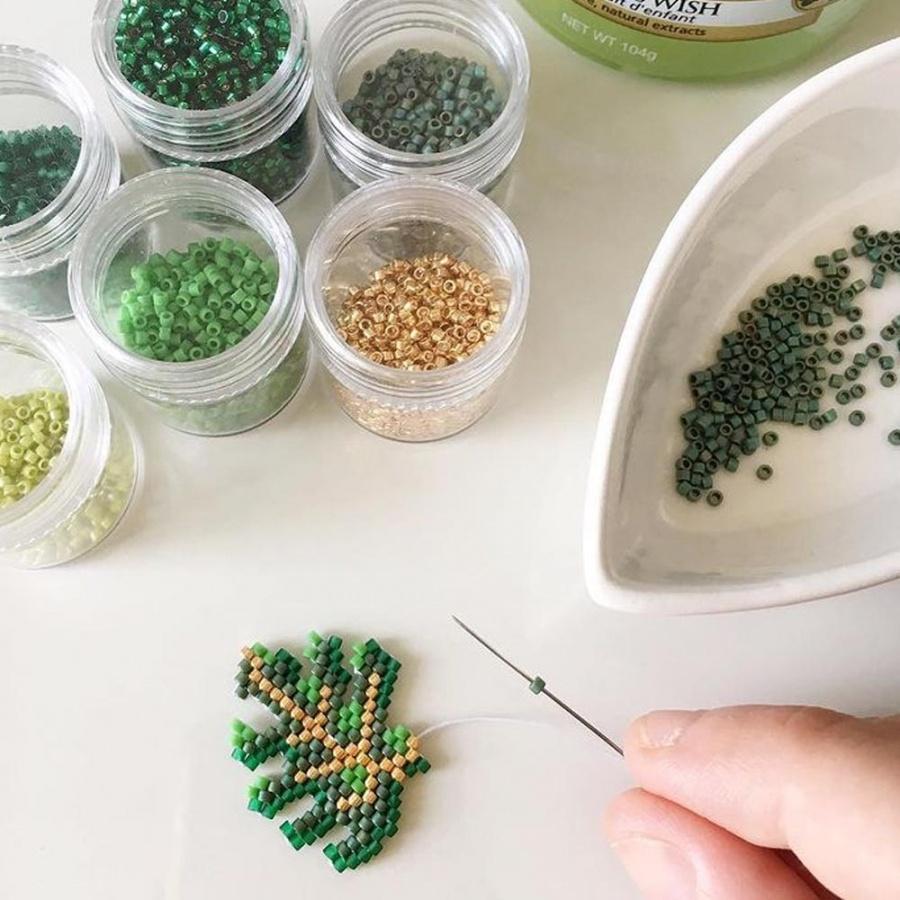 Lenor Spilla Foglia Handmade - Cuore